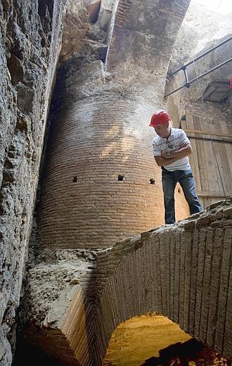 Muestran La Supuesta Coenatio Rotunda De Nerón Encontrada