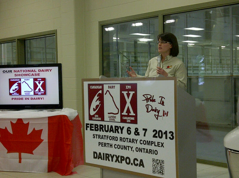 Jersey Canada Announcement at CDX