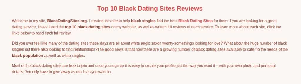 how can i make my own dating site