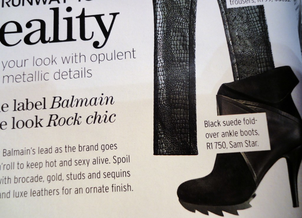 ef11b14b8 SAM STAR  SHOE WINTER COLLECTION OUT NOW! ITS ON JUNE ISSUE OF MARIE ...