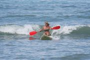 Marcy From Maui Surfing Her Waveski