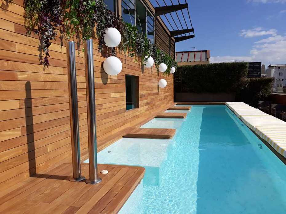 Luxury hardwood decking magnet exterpark