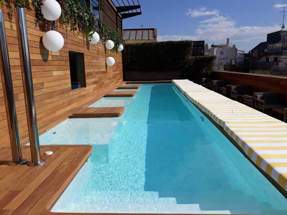 swimming pool decking hardwood installation