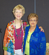 With Kathy Dixon, 2010