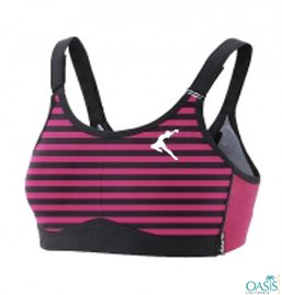 Buy Attractive Pink Lume Sports Bra From Oasis Promotional
