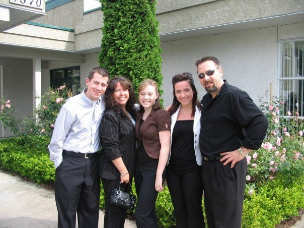 DOUG FRIESEN'S FAMILY - TYLER, JAN, KAYL, AMBER & DOUG - 2007