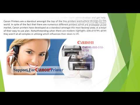 Fix Canon Printer issues easily with Customer Support Phone  number +1-888-518-6730