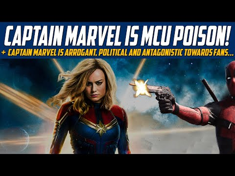 Captain Marvel is MCU Poison! - A Character That Embodies Fan Antagonism