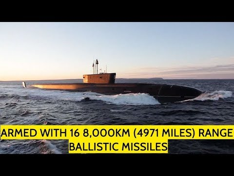 Russia's New Stealth Borey-Class Ballistic Missile Submarine Out At Sea For Trials