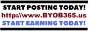 Start Posting BYOB365.us Today