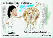 Alexandria Ocasio-Cortez says Iam the Boss of cow Flatulence