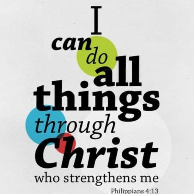my strength is in youChrist