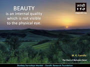 Thought For The Day ( BEAUTY )