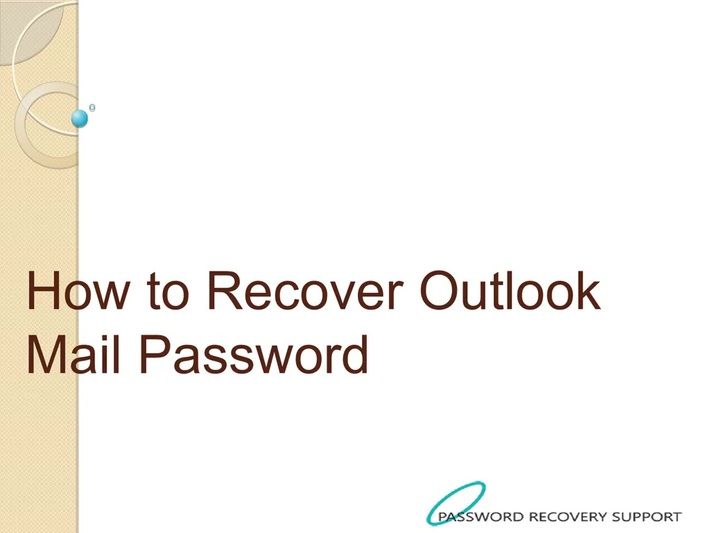 How to Recover Outlook Mail Password