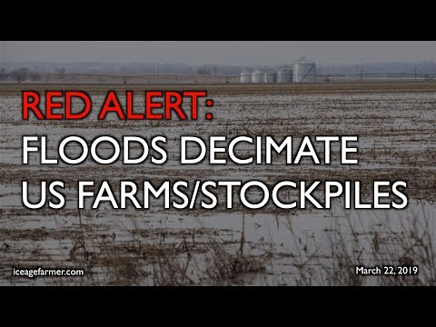 ALERT: Floods Decimate US Farms - Stockpiles Lost - More to Come