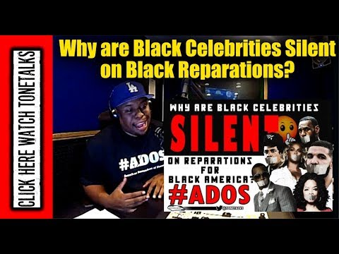 Why are Black Celebrities Silent on Black Reparations? Beyonce, Oprah, Jay-Z, Diddy, Drake