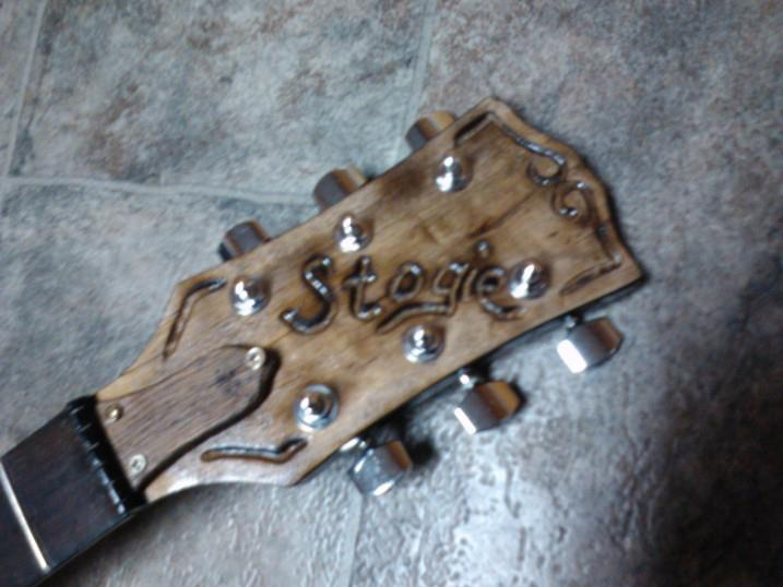 Headstock on the new Build