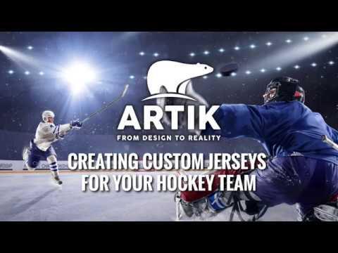 Creating Custom Hockey Jerseys at Artik