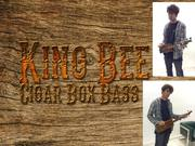 King Bee Cigar Box Bass