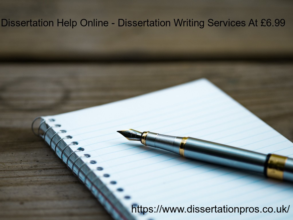 Top Quality Dissertation Writing Service by Dissertation Pros
