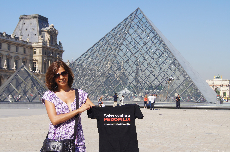 Viajando pela Europa - Campanha Todos contra pedofilia