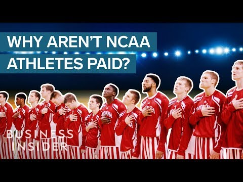 NCAA Sports Bring In $1 Billion A Year — Why Aren't The Athletes Paid?