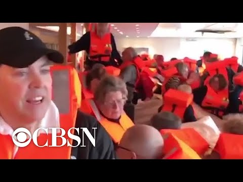 Hundreds evacuated from cruise ship in Norway (Spooky)