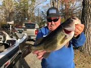 Crossed Paths With a Big Largemouth This Afternoon.....3/24/2019