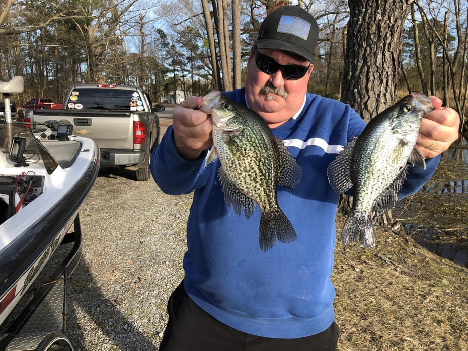 Crappie Daily Double......3/24/2019