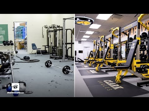Weight Room Extreme Makeover: Michele Clark High School
