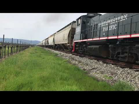 39 Car Train on the NWP - 03/24/2019