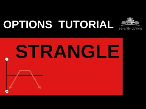 Options tutorial:What is a Strangle?