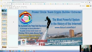 Power Circle Team Crypto Builder $6 Million for a One Off $20 Only Available Here Webinar Replay 20th March 2019