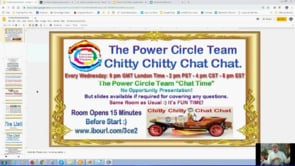 Power Circle Team Chitty Chitty Chat Chat Smart Phone to $6 Million from Free Webinar Replay 20th March 2019