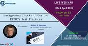 Background Checks Under the EEOC's Best Practices