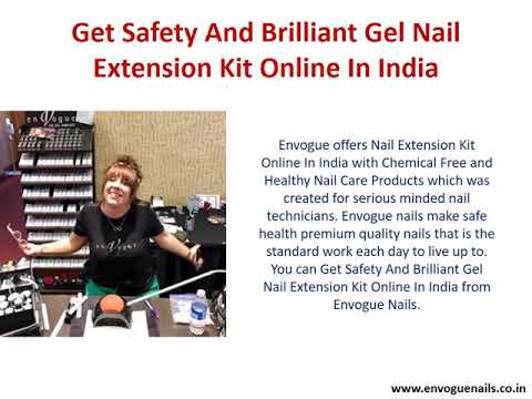 Get Safety And Brilliant Gel Nail Extension Kit Online In India