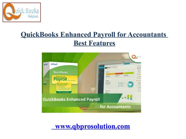 Need for QuickBooks Enhanced Payroll for Accountants