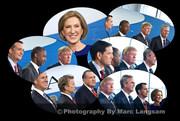 CNN GOP Debate at the Reagan Library 9/16/2015