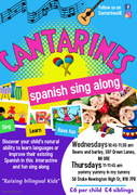 CANTARINES, Spanish sing along for kids 0-5 years.