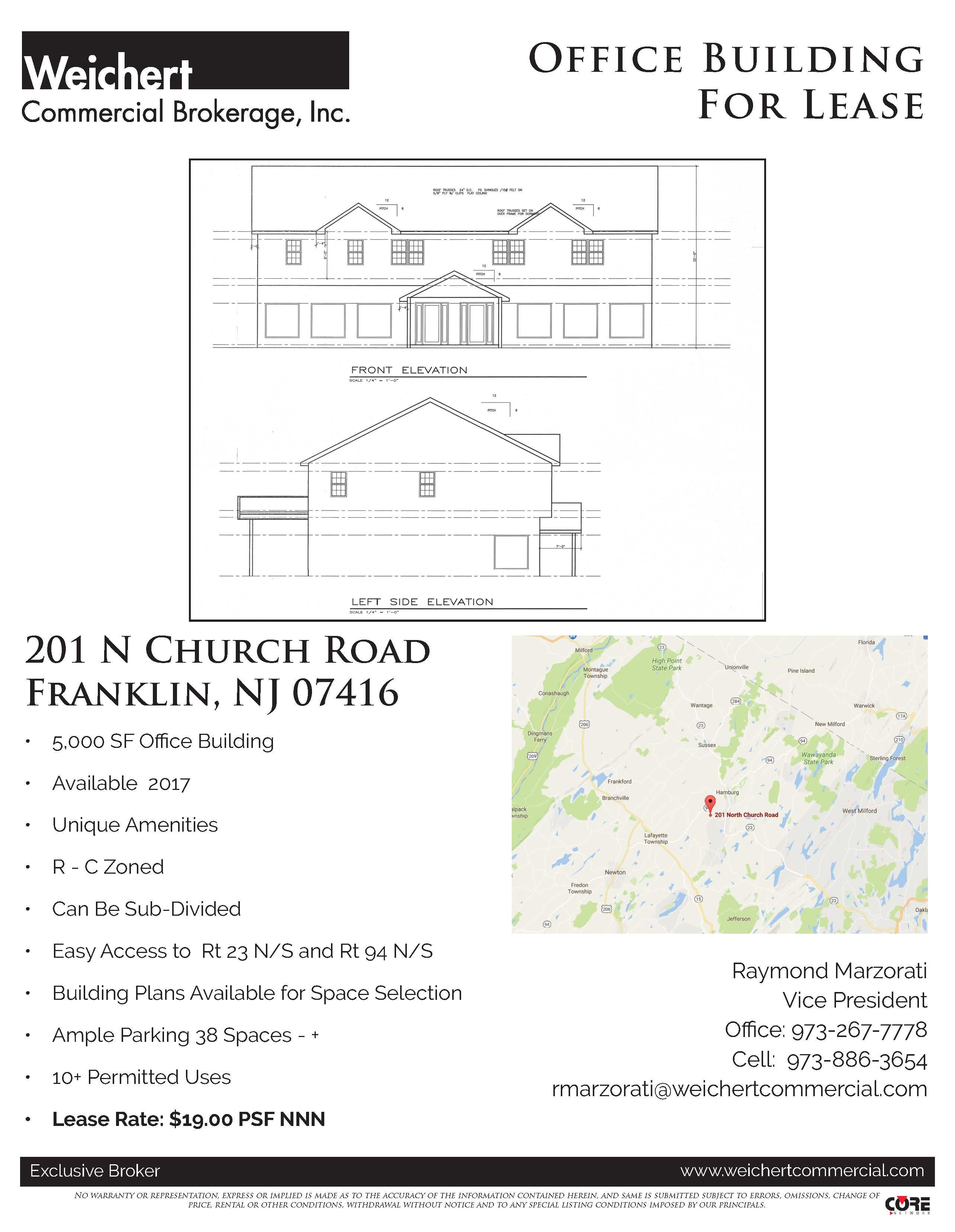Marzorati- 201 N Church Rd, Franklin