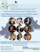 FRENCH MUSICIANS at SYMPHONY SPACE
