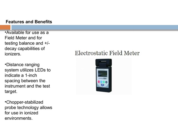 The Best Electrostatic Field Meter Supplier In India