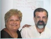 Con algunos de mis maestros
