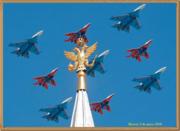 Desfile ruso victoria sosbre los nazis