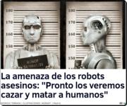la amenaza de los robots