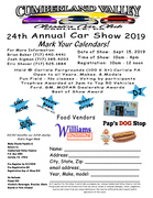 Cumberland Valley Classics Car Club 24th Annual Car Show