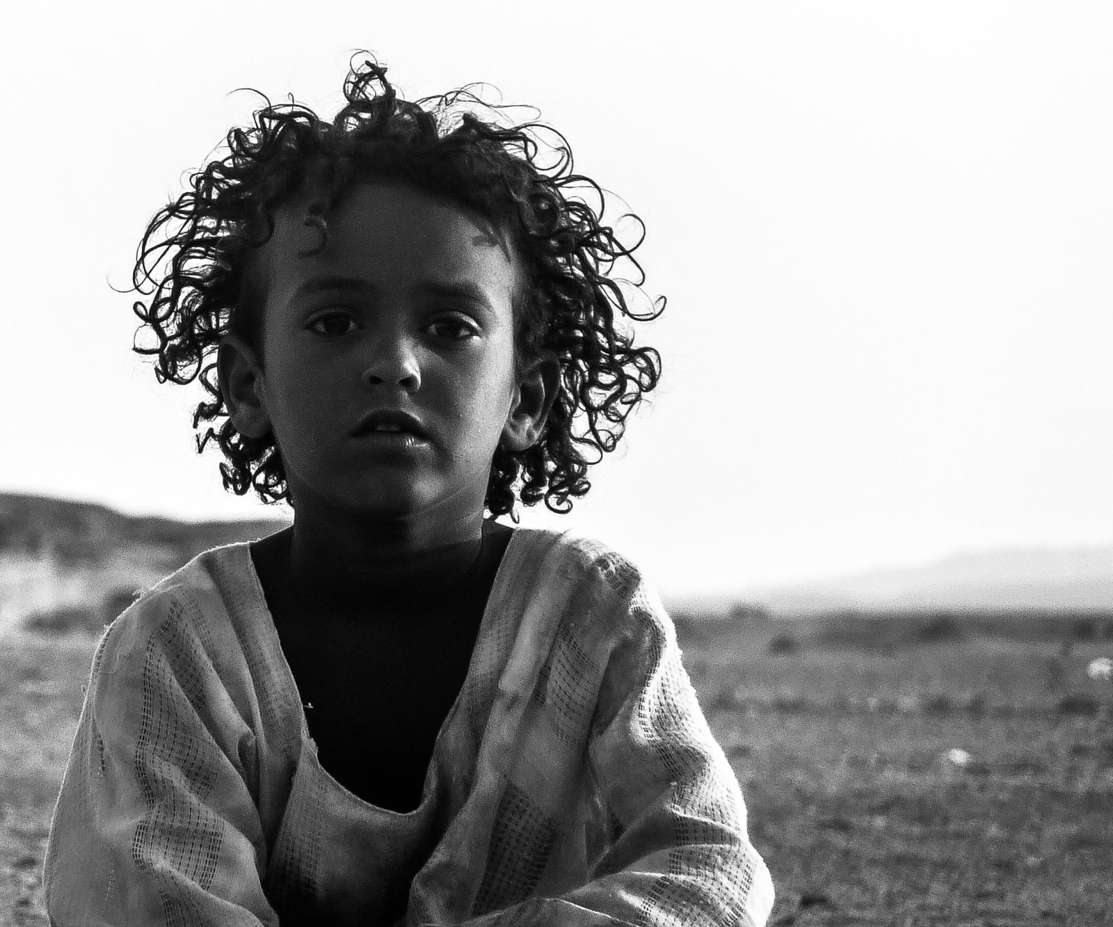 Piccola in Egitto