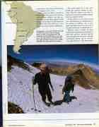 Celia (left) climbing 19000 ft mountain, Peru