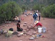 Dig site Range Creek