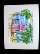 Fun tropical watercolors